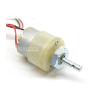 300RPM 12V DC MOTOR WITH GEARBOX